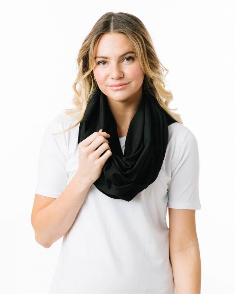 How to wear zyia infinity scarf