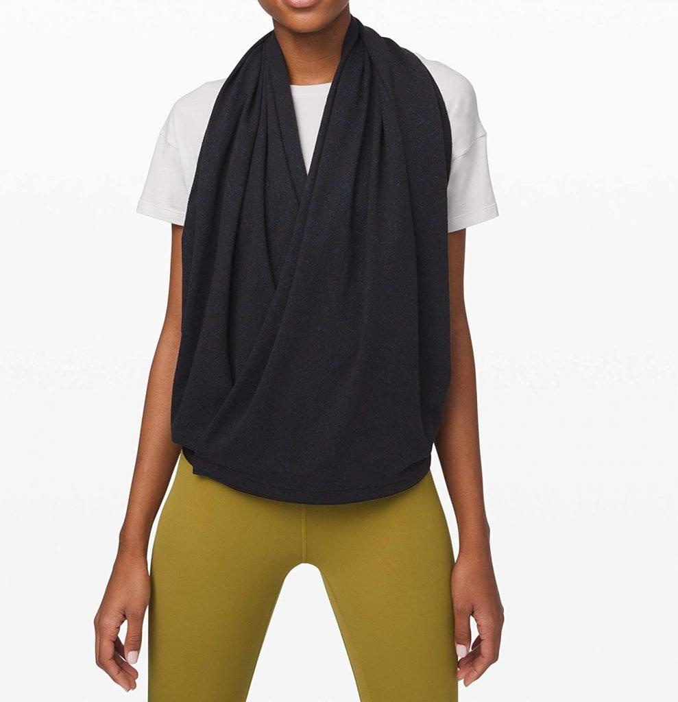 How to Wear lululemon Vinyasa Scarf Twist Front Dangle