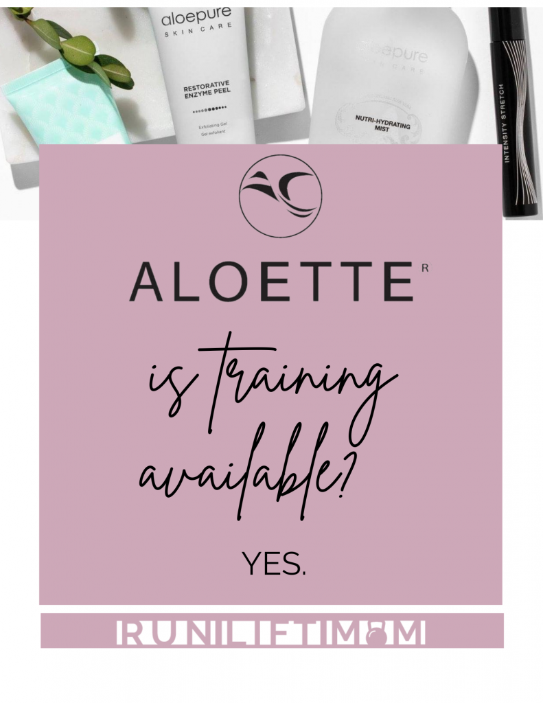 Is training available at Aloette