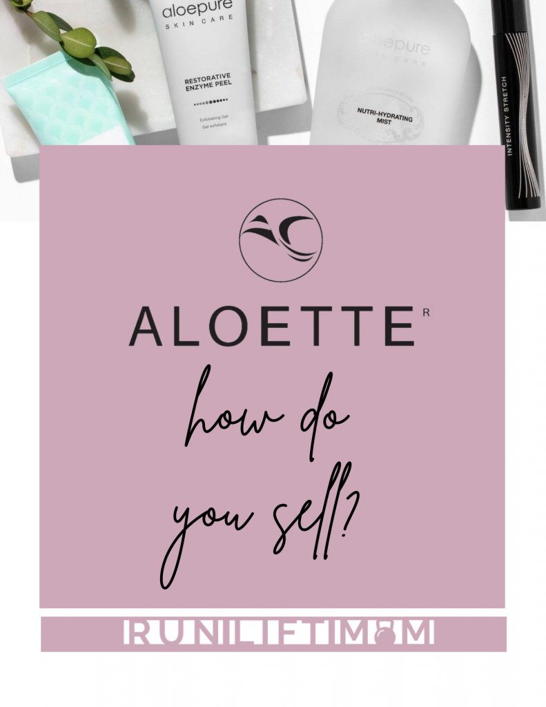 Aloette moisture spray